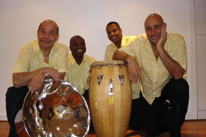 Our steel band photo shoot 2007