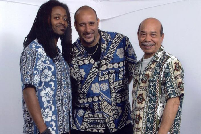 The Solid Steel Trio in 2002
