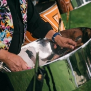 Solid steel band for hire hire